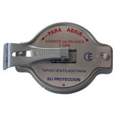TAPON RADIADOR UNIVERSAL CHEV-FORD-MERCEDES BENZ-DINA Hummer Mod. 60-11 Seguridad c/ palanca uña chica 14 lbs. (CE)