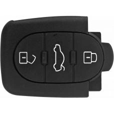 CARCASA AUDI y VW 3 botones para control de alarma
