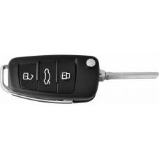 CARCASA AUDI 3 botones con llave Abatible para control de alarma