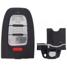 CARCASA AUDI A3, A4, A5, S3, S4, S5 Mod. 09-14 de 4 botones para control de alarma
