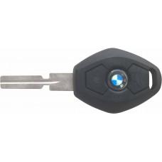 CARCASA BMW Serie 3 y 5 mod. 99-01 3 botones 4 facetas con llave para control de alarma