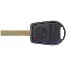 CARCASA BMW M3 X5, Z4 325 y 330 Mod. 95-99 * 3 botones 2 facetas con llave para control de alarma