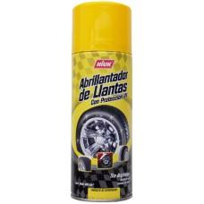 ABRILLANTADOR DE LLANTAS HIUK en Aerosol 400 ml.