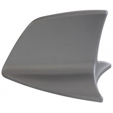 ANTENA UNIVERSAL para toldo Imitacion BMW (Tiburon) color plata c/ autoadherible