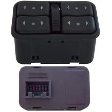 CONTROL Elevadores y seguro Elec. CHEV. Corsa-Astra 00-08 14-15 * 12 Pin 4 Teclas