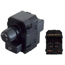 CONTROL Espejo Elect. NISSAN Altima Mod. 07-13 * 16 Pin 1 Perilla 1 Tecla