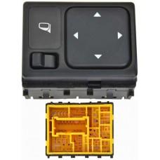 CONTROL Espejo Elect. NISSAN Versa 07-12 Frontier 09-14 Maxima 04-08 Titan 10-14 * 15 Pin 2 Teclas