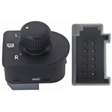 CONTROL Espejo Elect. VW Jetta 99-08 Golf 99-05 Bora 99-04 Beetle 00-10 Passat 00-05 * 10 Pin 1 Perilla