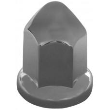 CUBRE BIRLO CROMADO UNIVERSAL Hexagonal con punta Ent. 33 mm.