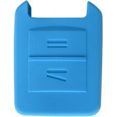 FUNDA DE SILICON PARA CONTROL CHEVROLET Astra 2 Botones Color Azul
