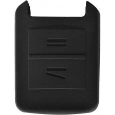 FUNDA DE SILICON PARA CONTROL CHEVROLET Astra 2 Botones Color Negro