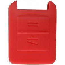 FUNDA DE SILICON PARA CONTROL CHEVROLET Astra 2 Botones Color Rojo