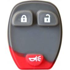 GOMA PARA CONTROL DE ALARMA CHEVROLET 3 botones