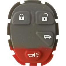 GOMA PARA CONTROL DE ALARMA CHEVROLET 4 botones