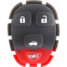 GOMA PARA CONTROL DE ALARMA CHEVROLET Malibu 4 botones