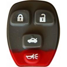 GOMA PARA CONTROL DE ALARMA CHEVROLET Suburban 4 botones