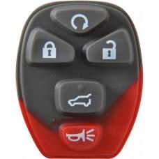 GOMA PARA CONTROL DE ALARMA CHEVROLET Suburban 5 botones