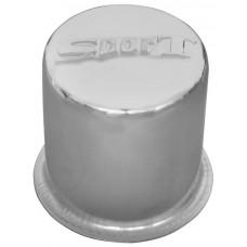 TAPACUBO Rin CHEVROLET Grabado Sport lamina cromada (copa) (Jgo. 4 pzas)