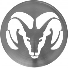 TAPACUBO Rin DODGE Camta. RAM lamina (centro de rin) 6.3 cm. (Jgo. 4 pzas)