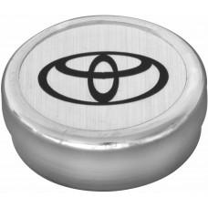 TAPACUBO Rin Toyota lamina (centro de rin) 6.35 cm. (Jgo. 4 pzas)