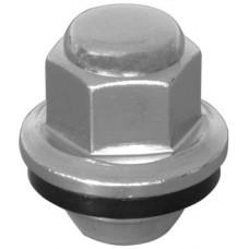 TUERCA CROMADA P/ RIN NISSAN Sentra Aluminio Rosca M12x1.25 Hex. 21 mm. Altura 3.4 cm.