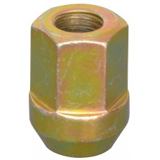 TUERCA P/ RIN UNIVERSAL Campana destapada Rosca M12x1.5 Hex. 19 mm. Altura 2.5 cm. Tropicalizada