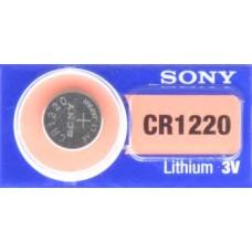 PILA PARA CONTROL de Alarma Sony 1220 3V (5 pzas)