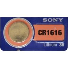 PILA PARA CONTROL de Alarma Sony 1616 3V (5 pzas)
