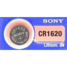 PILA PARA CONTROL de Alarma Sony 1620 3V (5 pzas)
