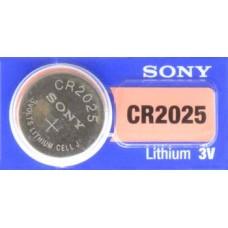 PILA PARA CONTROL de Alarma Sony 2025 3V (5 pzas)