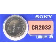 PILA PARA CONTROL de Alarma Sony 2032 3V (5 pzas)