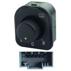 CONTROL Espejo Elect. VW Jetta-Golf Mod. 05-11 Passat Mod. 05-09 * 6 Pin 1 Perilla